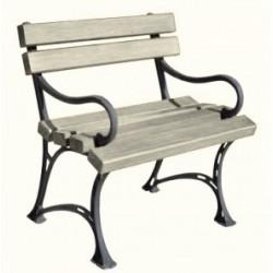 Fotel ogrodowy bez podłokietnika