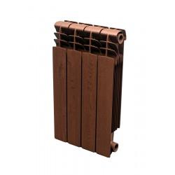 Grzejnik aluminiowy drewnopodobny - Orzech