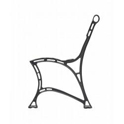 Aluminiowa noga do ławki Królewskiej