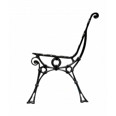 Aluminiowa noga do ławki Retro